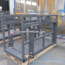 OEM 3000kg 3t Load 3m-14m Height Wall Mounted Guide Rail Lift Platform Cargo Lift